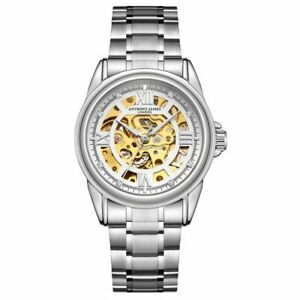 Hand-Assembled Anthony James Skeleton Automatic Men's Watch-BRAND NEW RRP £650