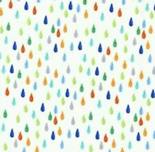 Pitter Patter-Drip DOT-Michael Miller-tessuto delle gocce di pioggia