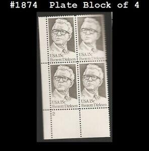USA3 #1874 MNH PB4 Everett Dirksen