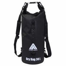 Dry Bag 30L wasserdichter Packsack Rucksack Seesack + Schultergurte & Tragegriff