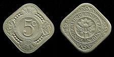 Netherlands - 5 Cent 1929
