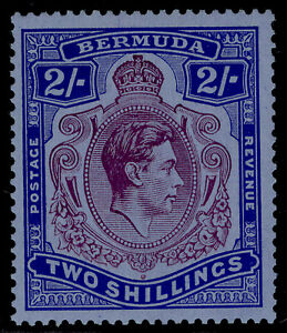 BERMUDA GVI SG116a, 2s deep reddish purple & ultram/grey-blue, M MINT. Cat £350.
