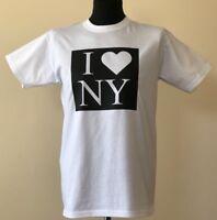 I Love New York I Heart NY T Shirt USA America Men's White t-shirt