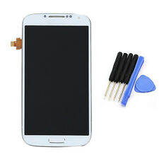 Full LCD Display Touch Screen Glass Digitizer Frame Per Samsung Galaxy S4 i9505