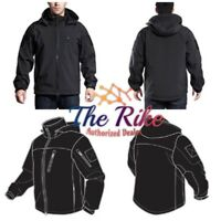 Outdoor Apparel VISM Alpha Trekker Jacket - Men's Black Polyester NEW