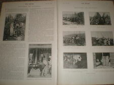 Photo article Hop Pickers and Hop Picking 1902 ref Z