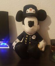Disney Parks Mickey Mouse  Trolley Conductor Plush Stuffed Animal Toy