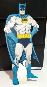 Desktop Display STANDEE : BATMAN Cartoon Comic Stance - Printed Reproduction Art