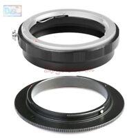 AI-52 Reverse Macro Adapter + 52mm Rear Lens Filter Ring For Nikon F AI Mount