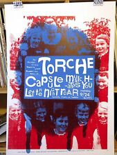 TORCHE CONCERT POSTER by Henry Owings edn of 30