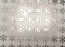 Snowflake Nail Stickers & Vinyls -  90 Per Sheet Pick a Color!