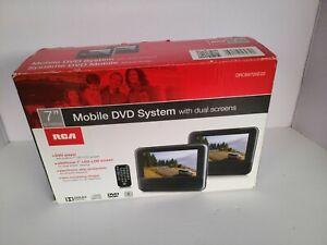 "RCA 7"" Screens Mobile DVD System with Dual Screens - DRC69705E22"