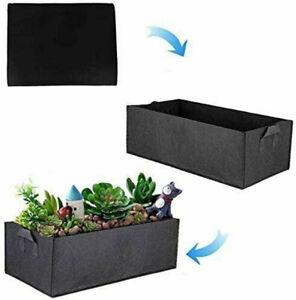 Planter Flower Grow Bag Raised Fabric Bed Elevated Vegetable Box Garden Planting