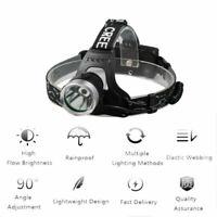8000LM LAMPADA FRONTALE LED PILE RICARICABILE AUTO TORCIA DA TESTA SPORT PESCA