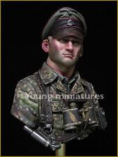 Young Miniatures oficial alemán 1944 Segunda Guerra Mundial Kit de 1/10th Busto YM1831