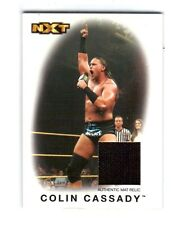 WWE Colin Cassady NXT 2016 Topps Heritage Event Used Mat Relic Card SN 197 / 199