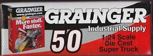 Greg Biffle Autographed #50 Grainger 2000 Craftsman Truck 1/24 NASCAR Die-Cast