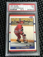 1990 Score Eric Lindros RC #440 PSA 7