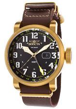 Armbanduhren mit Armband aus echtem Leder