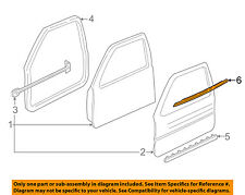 Buick GM OEM Front Door Window Sweep-Belt Molding Weatherstrip Left 10325226