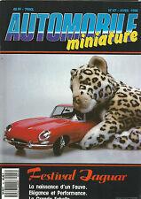 AUTOMOBILE MINIATURE N°47 FESTIVAL JAGUAR / AMI 8 CITROEN / KNIGHT 2000