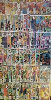 UNCANNY XMEN COMIC LOT, 164-231, 67 TOTAL FROM THE 1980's. UNGRADED