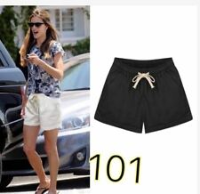 LADIES SHORT WITH STRING & POCKET #101 (LH)  (BLACK) FREE SIZE