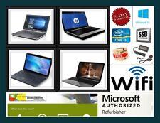 FAST CHEAP WINDOWS 10 LAPTOP D-Core i3 i5 8GB RAM SSD HDD WiFi