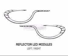 Headlight LED Circle Line Audi type Module Kit for HYUNDAI 2011 - 2013 Elantra