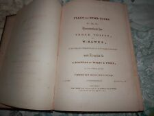 Psalm & Hymn Tunes 3 voices W Hawes Christian Remembrancer 1836 St Paul's