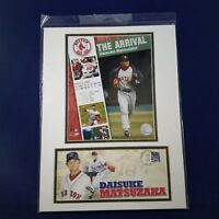 BOSTON RED SOX Daisuke Matsuzaka Matted Art 2007 Baseball Major League USPS