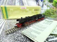 Minitrix 2051 - Spur N - ÖBB - Dampflok 52 2869 - Analog - TOP in OVP - #A227