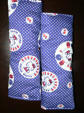 Handmade Capsule/Car/pram/High chair Padded Seat belt Covers Hello Kitty (20 cm)