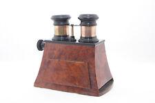 "Brewster Stereobetrachter Stereoscope Handstereobetrachter um 1890 ""selten-rare"""