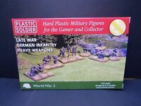 The Plastic Soldier Company 1/72 Scale Late War German Heavy Weapons box set