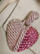 New Judith Ripka 1.70 Cttw Pink Spinel Heart Enhancer