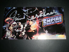 More details for star wars widevision esb card #1 signed by irvin kershner verified by swau
