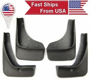 OE Fit 4Pcs Front Rear Fender Splash Guards Mud Flaps For 13-16 Mazda CX-5