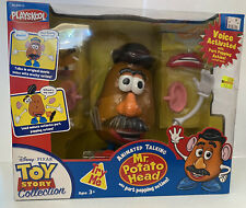 Thinkway PlaySkool Toy Story Animated Talking Mr Potato Head Popping Parts *READ