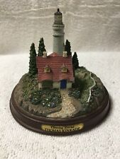 Thomas Kinkade Illuminated Clearing Storms Sculpture Lighthouse Tested Works