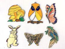 Vintage Suncatchers Lot of 6- Variety (Read Description)