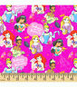 New Disney Embrace Your Inner Princess 100% Quality Cotton Fabric Fat Quarter FQ
