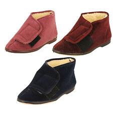 Zapatillas de andar textiles por casa de mujer