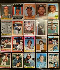 Vintage Baseball Card Lot (20) #123 1958-1983 topps '58 Purkey '74 WS game3