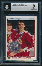 1990-91 Upper Deck rookie #461 Scott Niedermayer rc BGS 9 Mint