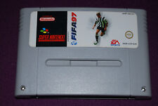 FIFA 97 - Electronic Arts/EA Sports - Jeu Football Super Nintendo SNES EUR