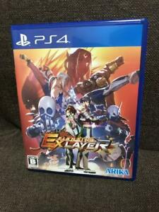 PS4 FIGHTING EX LAYER Sony PlayStation 4 ARIKA Japan Import