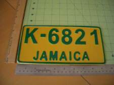 JAMAICA License plate REPLICA Bob Marley Reagge Kingston regge t shirt 420