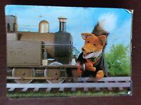 ca6 postcard used basil brush and the train