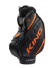 Cobra King Staff Bag Golf Bag Black Orange Puma Golf Bag Extra Large